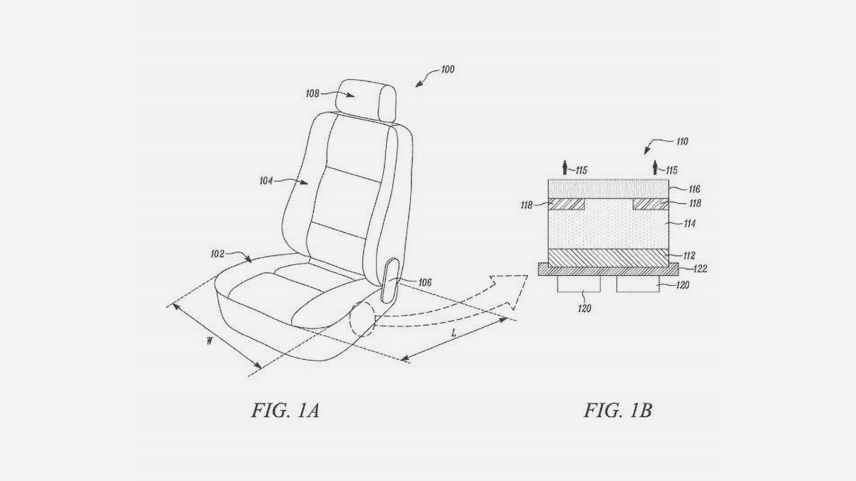 Tesla запатентовала подогрев и охлаждение сидений с помощью жидкости